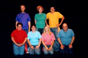 What I will look like with my improv group...